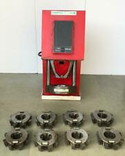 AEROQUIP FT1380 ELECTRIC HYDRAULIC HOSE CRIMPING/ CRIMPER WITH 8 DIE SET