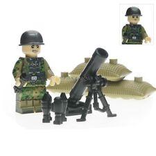Lego WW2 Mortier Americain Military Army US