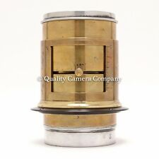 Vintage Brass Darlot Pulligny & Puyo Artist's 305mm Anachrom Lens 8x10+ COVERAGE