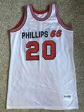 Rare DeLong VTG Phillips 66ers #20 Jersey Basketball AAU Oklahoma Sz 44 L