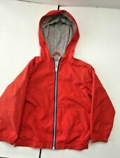 TOUGHSKINS Children's Hooded Windbreaker Jacket Size 4T Zipp up Coat