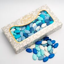 OCEAN SHADES Blue and White Chocolate Dragees Luxury Wedding Favour Sweets