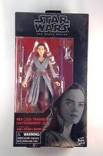 Star Wars The Black Series #44 Rey Jedi Training The Last Jedi  6 inch MIB