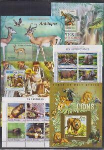 B903. 6 Difirent items - MNH - Animal Kingdom