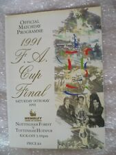 1991 FA Cup FINAL- NOTTINGHAM FOREST v TOTTENHAM HOTSPUR Excellent Condition-ORG