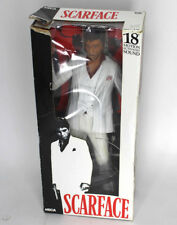 "Neca 18"" inch Scarface Motion Activated Talking Tony Montana figure RARE white"