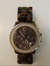 Michael Kors Brown Tortoise Shell Acetate Ladies Watch MK6279