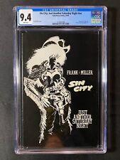 Sin City: Just Another Saturday Night #nn Cgc 9.4 (1998) - Frank Miller
