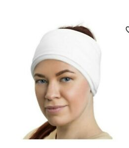 """3/"""" Wide Stretchy HEADBAND buy by EACH  Nylon//cotton or blend Solids WIDER 2 diff"""