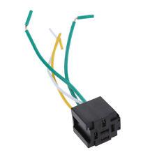 12V 40 80A Relaissockel Halter Montage mit 4 Pin Kabelbaum normalerweise