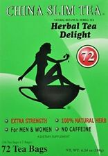 China Slim Herbal Tea Extra Strength Delight For Men and Women 72 Tea Bags/ Box