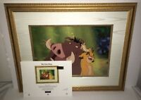 disney animation cel the lion king hakuna matata rare limited edition art cell