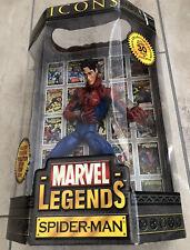 """Marvel Legends Icons SPIDER-MAN 12"""" UNMASKED Variant Avengers New Sealed"""