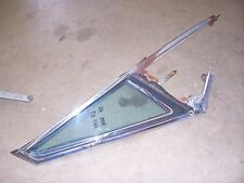 1965 1966 Cadillac Coupe Deville hardtop door vent window glass frame trim D