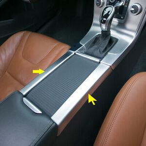 Inner Armrest Box Car Seat Seam Stripe Cover trim 2P for VOLVO XC60 2009-2015