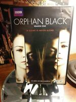 Orphan Black: The Complete First 1st Season (DVD, 3-Disc Set) - BBC - Like New