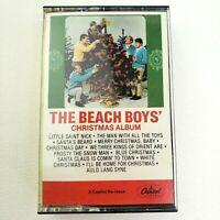 THE BEACH BOYS' Christmas Album Cassette Tape Capitol Records