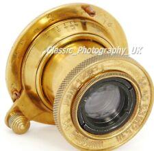 Industar-22 or Industar-50 1:3.5 F=50mm Soviet Lens Made into LEICA Elmar f=5cm