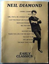 Neil Diamond Early Classics song book music piano guitar 70s I'm a Believer
