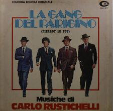 """La Gang Del Parigino - Carlo Rustichelli - Gianfranco Plenizio - LP 12 """" (Z632)"""
