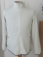 AIGLE Fleecejacke,Gr.40, Edite, OFF White