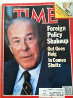 TIME MAGAZINE JULY 5 1982 Haig Schultz Nixon John Hinckley Disney's Tron