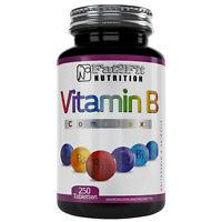 Vitamin B Complex 250 Tabletten Die preiswerte Alternative Fat2Fit Nutrition