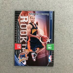 2009-10 Panini Stephen Curry Rookie Card RC Adrenalyn XL Trading Card Game