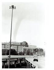 1986 Original Photo funnel cloud waterspout near Interstate 375 (I-375) Florida