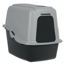 Large Cat Litter Box Pan Enclosed Hooded Jumbo Giant Covered Kitty House New