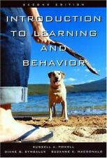 Introduction to Learning and Behavior by Diane G. Symbaluk, Russell A. Powell an