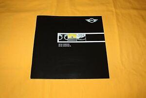 Mini Cooper S 2001 Prospekt Brochure Depliant Catalog Prospetto Prospect Каталог