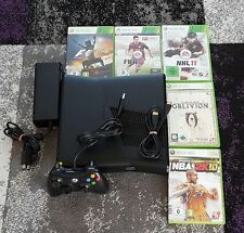 Microsoft Xbox 360 S Slim Konsole+ Spiele + 20 GB Festplatte + Controller+ HDMI