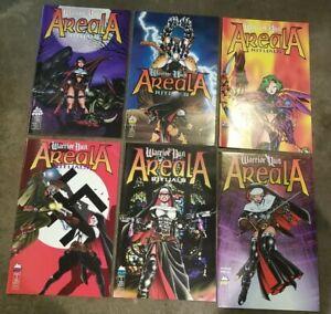 Warrior Nun Areala Rituals (1995) #s 1 2 3 4 5 6 - Complete set lot of 6, Manga