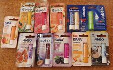 12 x Lippenpflege Labello Balea Isana Aveo neu und original verpackt