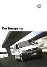 Prospekt / Brochure VW Transporter 05/2007