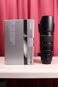 Tamron SP 70-200mm F/2.8 Di VC USD Lens (Model A009) For Canon Full Frame 5D 1D