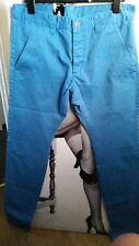 """Da Uomo Karl French blue slim fit jeans """"DRDENIM jeansmakers"""" 100% COTONE 33/34 SIZ"""