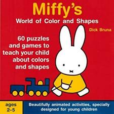 Miffy's World Of Color & Shapes Pc Cd teach child early learning puzzle games!