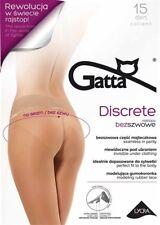 """Gatta  """"Discrete"""" 15 den Strumpfhose OHNE N�""""HTE versch. Farben"""