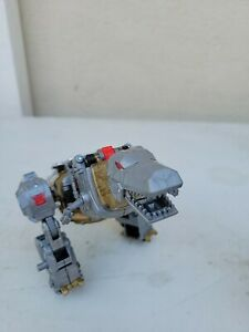 Transformers GRIMLOCK Voyager Class POTP Power of the Primes Volcanicus Combiner