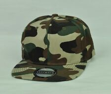 Original Snapback Mens Hat Cap Adjustable Camouflage Flat Bill Adjustable