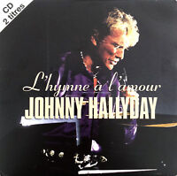 Johnny Hallyday ‎CD Single L'hymne À L'amour - France (VG+/VG+)