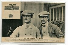 AVIATION Carte Rare Photog Manuel Freres Gabriel Charles VOISIN Maitres E01 2019