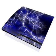 Sony PS3 Slim Console Skin - Apocalypse Blue - DecalGirl Decal