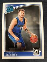 2018-19 Donruss Optic Luka Doncic Base Rookie RC Card *RARE* #177 Rated Rookie