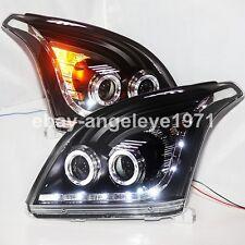 2003-2009 Year For TOYOTA FJ120 LC120 Prado 2700 4000 LED Angel Eyes Headlights
