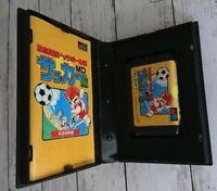Mega Drive Sega KUNIO KUN Nekketsu Koukou Dodgeball Bu SOCCER Hen