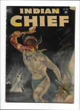 "INDIAN CHIEF #5 [1952 GD] ""THE SACRED FIRE"""