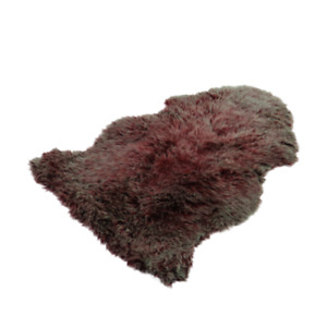 Australian Sheepskin Rug 2x3 ft Eco Friendly Dyed Multicolor Sheep Fur Decor Rug